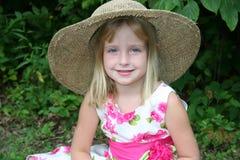 καλοκαίρι καπέλων στοκ εικόνες