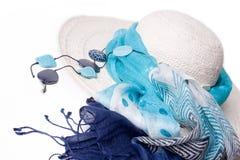 καλοκαίρι καπέλων Στοκ φωτογραφία με δικαίωμα ελεύθερης χρήσης