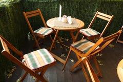 καλοκαίρι καφέδων Στοκ Φωτογραφία