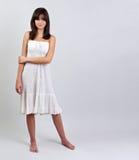 καλοκαίρι κοριτσιών φορεμάτων Στοκ εικόνα με δικαίωμα ελεύθερης χρήσης