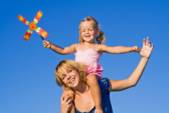 καλοκαίρι κοριτσιών δια& Στοκ εικόνες με δικαίωμα ελεύθερης χρήσης