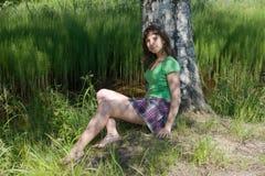 καλοκαίρι κοριτσιών Στοκ Εικόνα