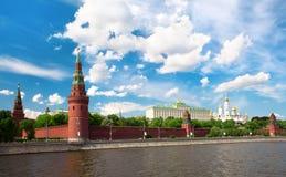 καλοκαίρι κόκκινων πλατειών της Μόσχας ημέρας Στοκ Φωτογραφίες