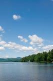 καλοκαίρι λιμνών ημέρας Στοκ φωτογραφία με δικαίωμα ελεύθερης χρήσης