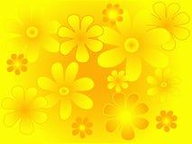 καλοκαίρι λουλουδιών διανυσματική απεικόνιση