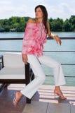 καλοκαίρι μόδας Στοκ Εικόνες