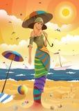 καλοκαίρι νεράιδων διανυσματική απεικόνιση
