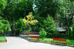 καλοκαίρι πάρκων ημέρας πό&lambda Στοκ Εικόνες