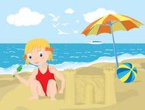 καλοκαίρι παιδικών χαρών απεικόνιση αποθεμάτων