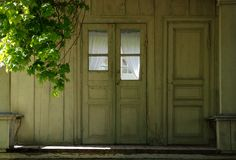 καλοκαίρι πορτών Στοκ εικόνα με δικαίωμα ελεύθερης χρήσης