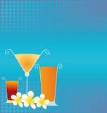 καλοκαίρι ποτών διανυσματική απεικόνιση