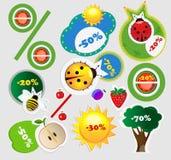 καλοκαίρι πωλήσεων εικ&o Στοκ Φωτογραφία