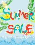 καλοκαίρι πώλησης Στοκ Φωτογραφία