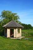 καλοκαίρι σπιτιών κήπων Στοκ εικόνα με δικαίωμα ελεύθερης χρήσης