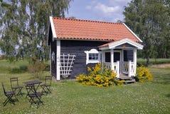 καλοκαίρι σπιτιών Στοκ Εικόνα