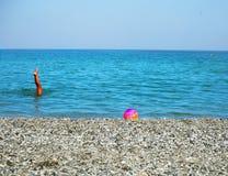 Καλοκαίρι στην παραλία στοκ φωτογραφίες με δικαίωμα ελεύθερης χρήσης