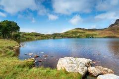 Καλοκαίρι στις λίμνες Cregennan στοκ εικόνες