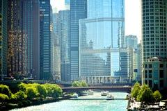 Καλοκαίρι στο Σικάγο Στοκ φωτογραφία με δικαίωμα ελεύθερης χρήσης