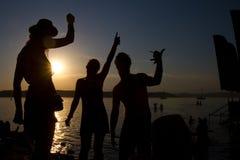 καλοκαίρι συμβαλλόμενων μερών Στοκ Φωτογραφίες