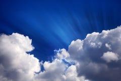 καλοκαίρι σύννεφων Στοκ εικόνες με δικαίωμα ελεύθερης χρήσης