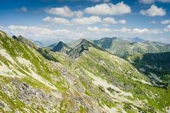 καλοκαίρι τοπίου βουνών Στοκ Φωτογραφία
