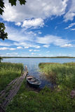καλοκαίρι τοπίου λιμνών s Στοκ Εικόνες