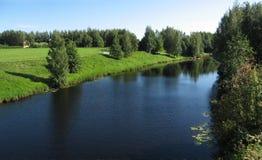 καλοκαίρι τοπίου Στοκ Εικόνα