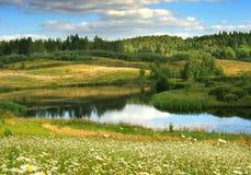 καλοκαίρι τοπίων Στοκ Φωτογραφία