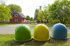 καλοκαίρι τρία θερέτρου &e Στοκ Εικόνες
