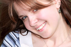 καλοκαίρι χαμόγελου Στοκ φωτογραφία με δικαίωμα ελεύθερης χρήσης