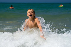 καλοκαίρι χαράς Στοκ φωτογραφία με δικαίωμα ελεύθερης χρήσης