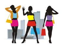 καλοκαίρι 4 μόδας διανυσματική απεικόνιση