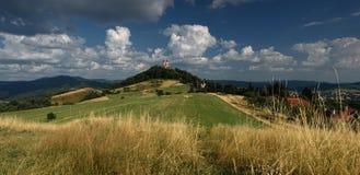 Καλοκαίρι Calvary σε Banska Stiavnica, Σλοβακία στοκ εικόνα