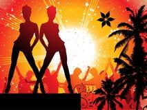 καλοκαίρι disco Στοκ φωτογραφία με δικαίωμα ελεύθερης χρήσης