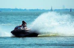 καλοκαίρι jetski διασκέδαση&sig Στοκ εικόνα με δικαίωμα ελεύθερης χρήσης
