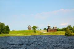 καλοκαίρι kizhi νησιών στοκ εικόνες