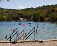 Καλοκαιρινές διακοπές εν πλω Στοκ εικόνα με δικαίωμα ελεύθερης χρήσης
