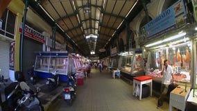 Καλυμμένες αγορές κρέατος, κεντρική Αθήνα, Ελλάδα φιλμ μικρού μήκους