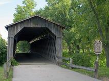 καλυμμένη γέφυρα είσοδο&si Στοκ Εικόνες