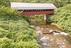 Καλυμμένη γαλακτοκομείο γέφυρα στοκ εικόνα