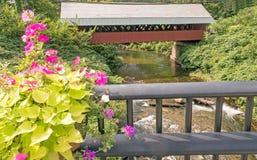 Καλυμμένη γαλακτοκομείο γέφυρα στοκ εικόνες