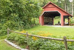 Καλυμμένη γαλακτοκομείο γέφυρα στοκ εικόνα με δικαίωμα ελεύθερης χρήσης