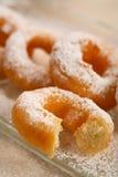 καλυμμένη doughnut ζάχαρη τήξης Στοκ εικόνα με δικαίωμα ελεύθερης χρήσης