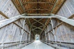 1892 καλυμμένη Felton γέφυρα στοκ φωτογραφίες με δικαίωμα ελεύθερης χρήσης