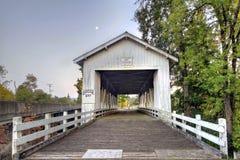καλυμμένο γέφυρα crawfordsville Όρεγ&kap στοκ φωτογραφία με δικαίωμα ελεύθερης χρήσης