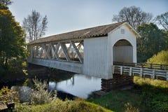 καλυμμένο γέφυρα giilkey Όρεγκ&omi Στοκ Φωτογραφίες