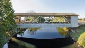 καλυμμένο γέφυρα gilkey Όρεγκ&omic Στοκ Φωτογραφίες
