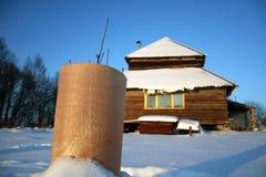 καλυμμένο εξοχικό σπίτι φυτό Στοκ εικόνες με δικαίωμα ελεύθερης χρήσης