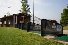 καλυμμένο περιοχή οδηγώντας γράμμα Τ σειράς Στοκ φωτογραφία με δικαίωμα ελεύθερης χρήσης