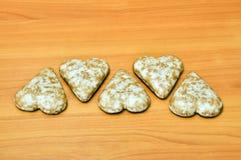 καλυμμένο σοκολάτα μελόψωμο Στοκ Εικόνες